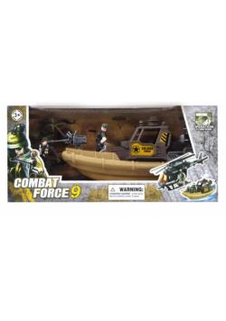 Zestaw wojsko łódź