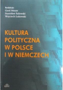 Kultura polityczna w Polsce i w Niemczech