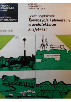 Kompozycja i planowanie w architekturze krajobrazu