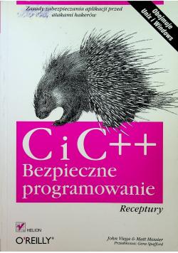 C i C plus plus Bezpieczne programowanie