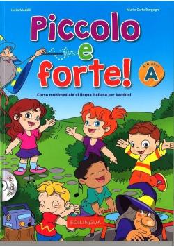 Piccolo e forte! A podręcznik + CD EDILINGUA