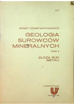 Geologia Surowców Mineralnych