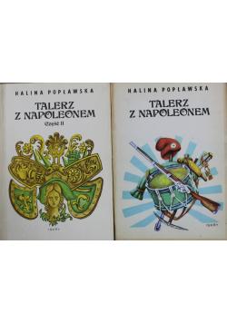 Talerz z Napoleonem część I i II