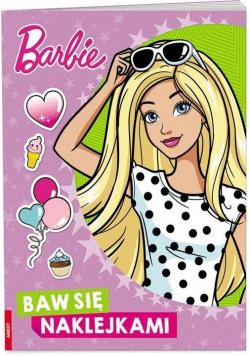 Barbie. Baw się naklejkami