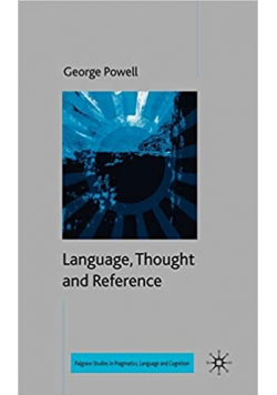 Language Thought and Reference