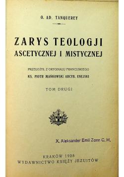 Zarys teologji ascetycznej i mistycznej 1928 r.