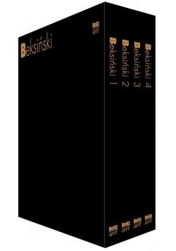 Beksiński Zestaw 4 książek