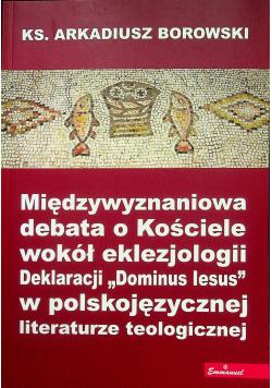 Międzywyznaniowa debata o Kościele wokół eklezjologii