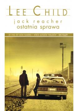 Jack Reacher ostatnia sprawa wersja kieszonkowa