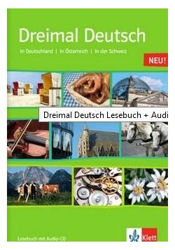 Dreimal Deutsch Lesebuch + CD