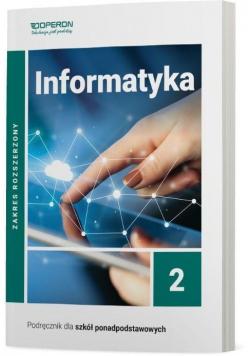 Informatyka LO 2 Podr. ZR wyd.2020 OPERON