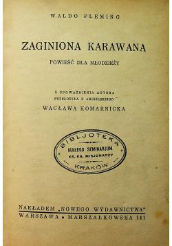 Zaginiona Karawana