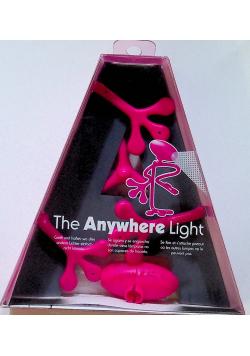Anywhere Light - lampka do książki - różowa NOWA