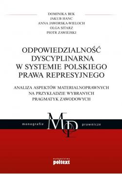 Odpowiedzialność dyscyplinarna w systemie...