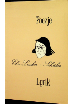 Poezje Else Lasker Schuler Lyrik