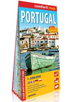 Portugalia (Portugal) laminowana mapa samochodowo-turystyczna 1:500 000
