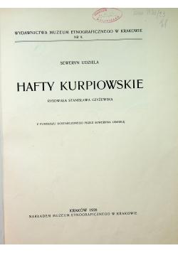 Hafty Kurpiowskie 1936 r