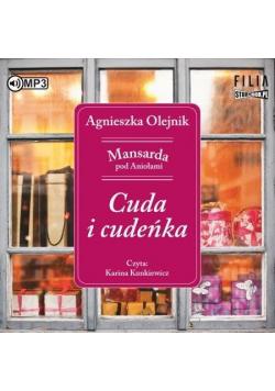 Mansarda pod Aniołami T.1 Cuda i cudeńka audiobook