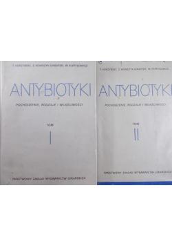Antybiotyki Pochodzenie rodzaje i właściwości Tom I i II