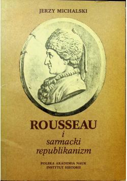 Rousseau i sarmacki republikanizm