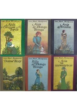 Ania z Zielonego Wzgórza 6 tomów
