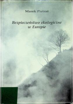 Bezpieczeństwo ekologiczne w Europie
