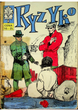 Kapitan Żbik ryzyko część 2 wydanie I