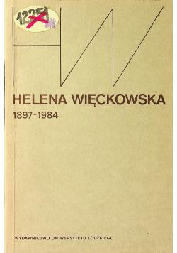 Helena Więckowska 1897 1984