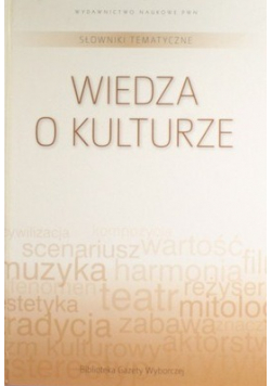 Słowniki tematyczne Wiedza o kulturze