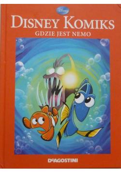 Disney komiks Gdzie jest Nemo
