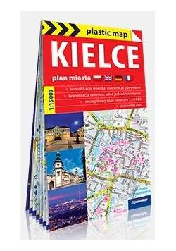 Plastic map Kielce 1:15 000 mapa turystyczna