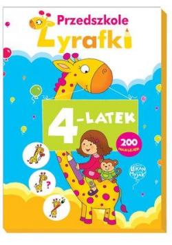 Przedszkole Żyrafki. 4-latek