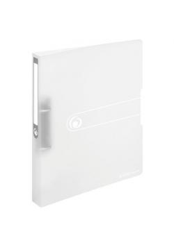 Segregator A4 PP 2R 1,6cm biały transparentny Easy
