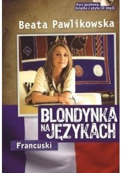 Blondynka na językach francuski plus CD