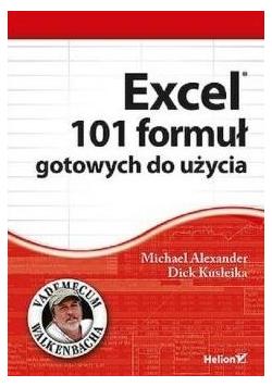Excel. 101 formuł gotowych do użycia
