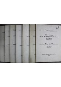 Słownik łaciny średniowiecznej w Polsce tom V  7 zeszytów