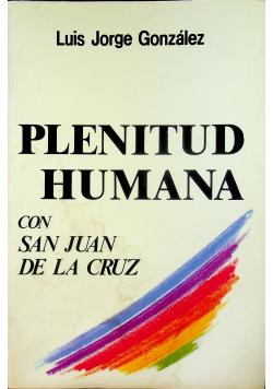 Plenitud Humana con San Juan De La Cruz