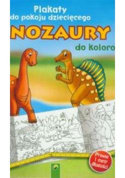 Plakaty do kolorowania - Dinozaury