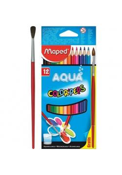 Kredki Colopeps Aqua akwarelowe 12 kolorów
