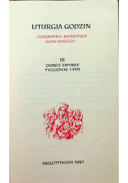 Liturgia godzin III