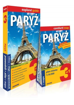 Explore! guide Paryż 3w1 w.2019