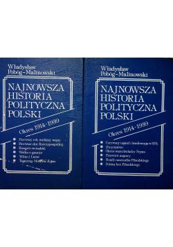 Najnowsza Historia Polityczna Polski Tom II Część I i II