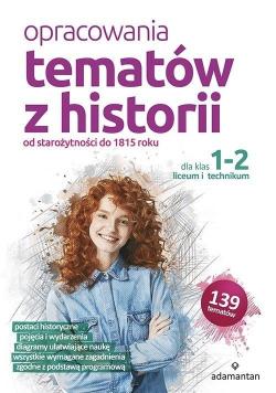 Opracowania tematów z historii