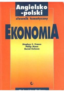 Ekonomia Angielsko polski słownik tematyczny