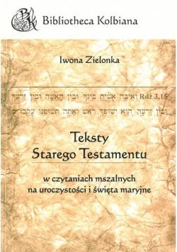 Teksty Starego Testamentu