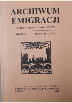 Archiwum Emigracji   1 i 2   12-13 2010