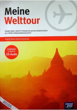 Meine Welttour Podręcznik  z repetytorium do języka niemieckiego