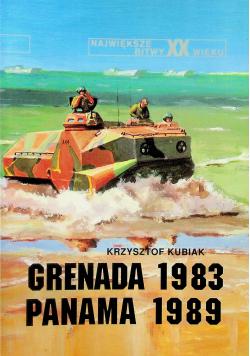 Największe bitwy XX wieku  Grenada 1983 Panama 1989 Tom 20