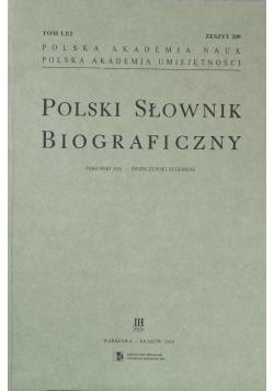 Polski Słownik Biograficzny Zeszyt 209
