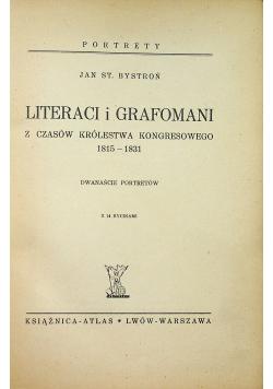Literaci i grafomani 1938 r.